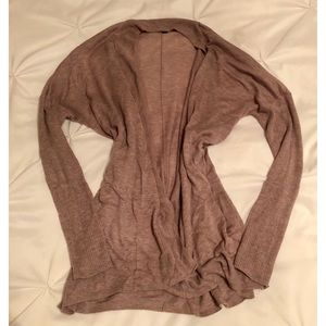 Mossimo Super Soft Batwing Cardigan in Tan